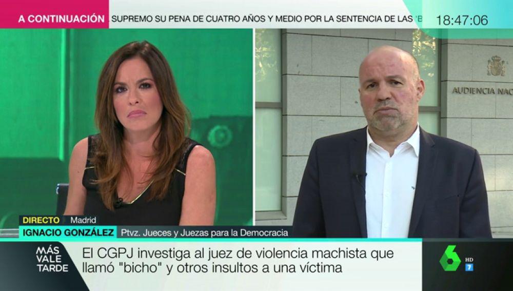 """Ignacio González, sobre las polémicas grabaciones del juez: """"Generalizar esto a la carrera judicial es injusto. En España los magistrados no son machistas"""""""