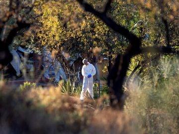 Lugar en Coín en el que han encontrado tres cadáveres en estado de descomposición