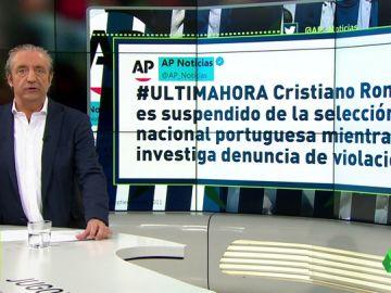 Según Associated Press, Cristiano estaría suspendido de la selección portuguesa