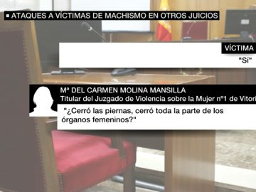 Polémica pregunta a una víctima de violencia machista
