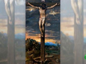 El Cristo Crucificado de Tiziano