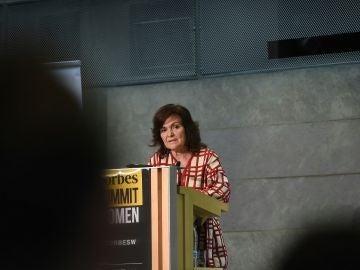 Carmen Calvo, vicepresidenta del Gobierno y ministra de la Presidencia