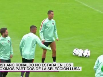 Cristiano Ronaldo fuera de la lista de Portugal para los partidos ante Polonia y Escocia