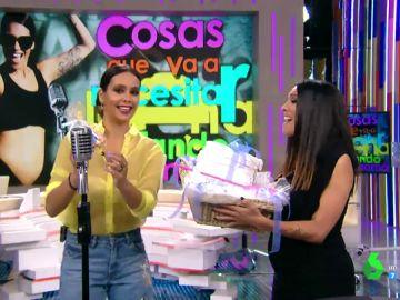 Cristina Pedroche y Lorena Castell