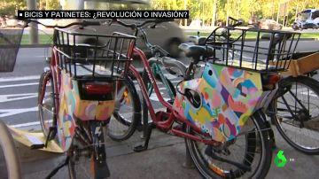 Las aceras de las grandes ciudades se llenan de bicis, patinetes y motos