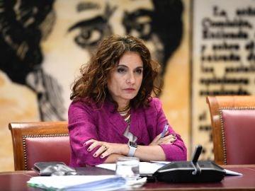 La ministra de Hacienda María Jesús Montero