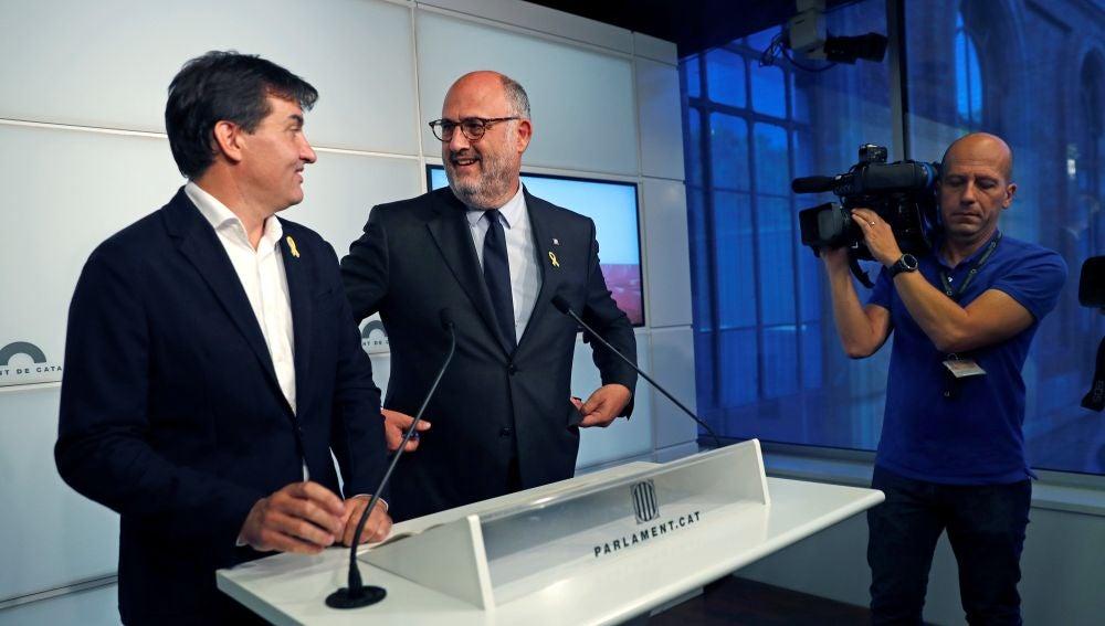 Sergi Sabrià y Eduard Pujol