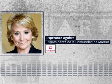 """Aguirre siente """"mucha pena"""" por la condena a Rato: """"No sé si las cárceles están para 90.000 euros"""""""