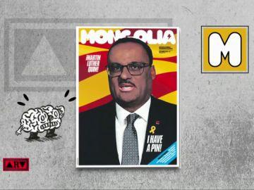 El nuevo Martin Luther King de Cataluña en la portada de Mongolia