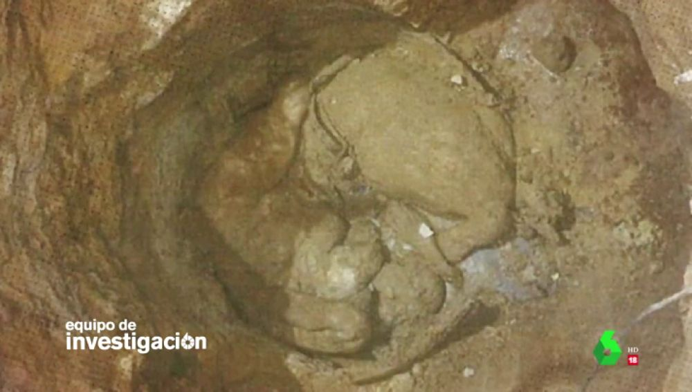 Cadáveres de los tres asesinados en Dos Hermanas, Sevilla