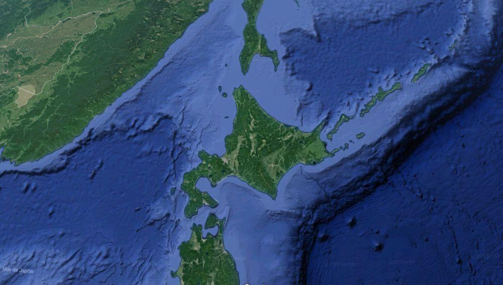 Isla de Hokkaido, en Japón