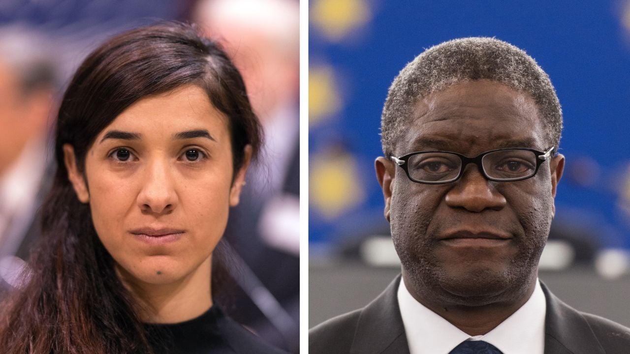 Autentica Violacion Porno denis mukwege y nadia murad, los nobel de la paz que luchan por acabar con  la violación como arma de guerra
