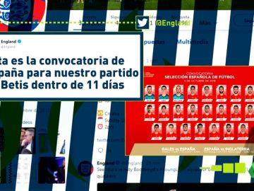 La Federación Inglesa de Fútbol confundió la ciudad de Sevilla con el Betis