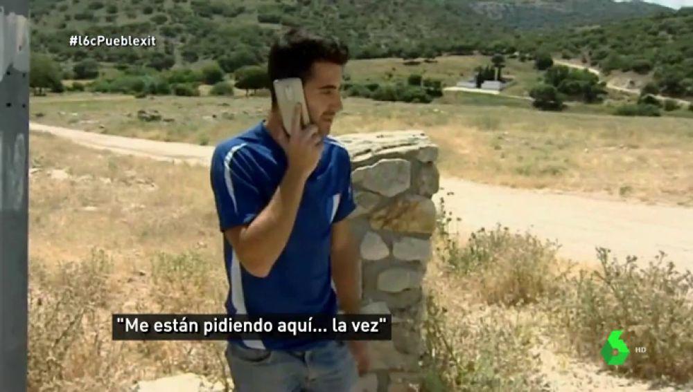 Único punto con cobertura en Sillar Baja, Granada