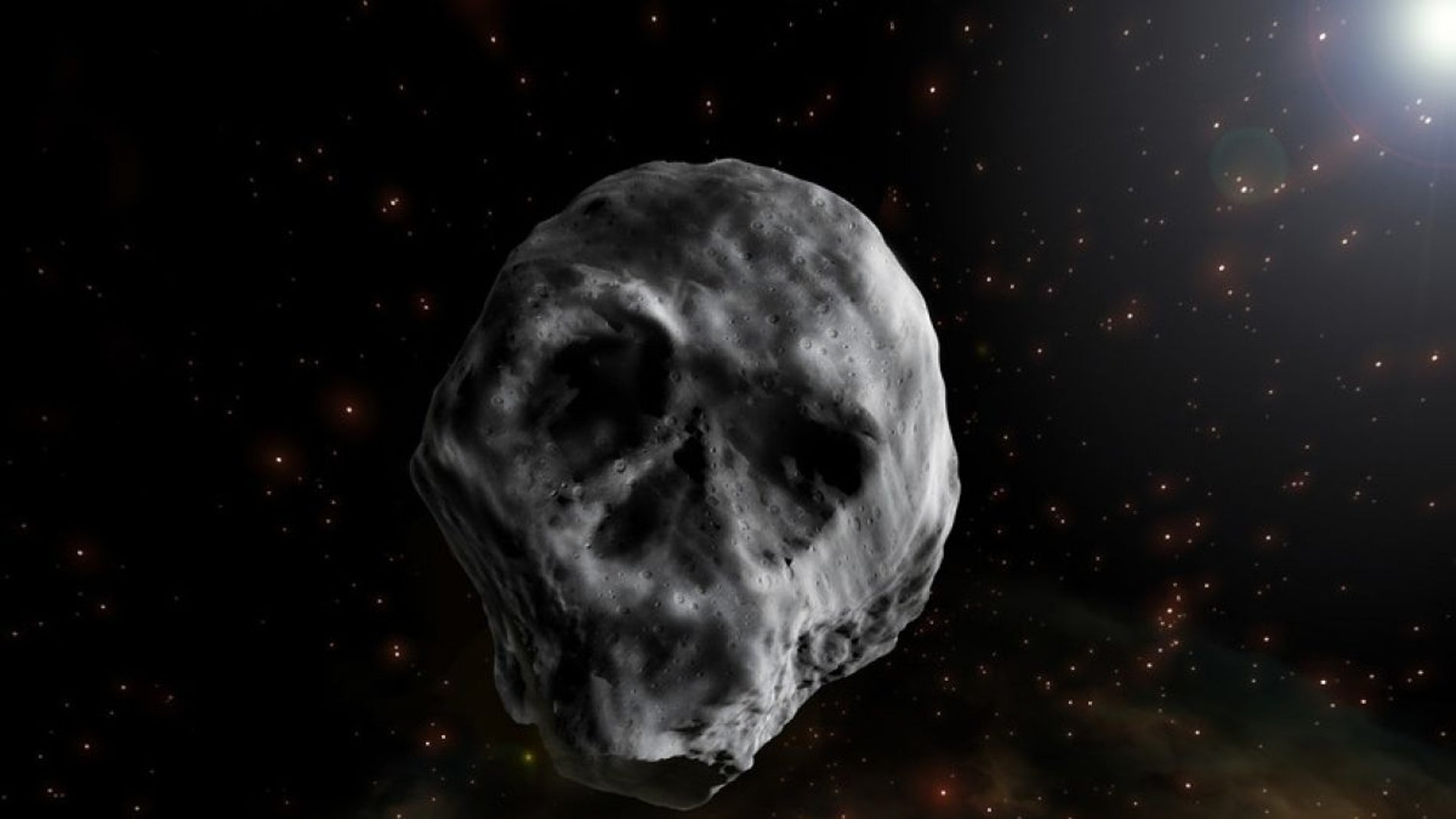 Asteroide calavera