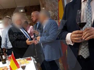 Billy el Niño en un acto en la comisaría de Ciudad Lineal, Madrid