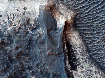 Imagen del Mars Reconnaissance Orbiter