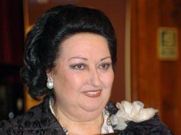 La soprano Montserrat Caballé