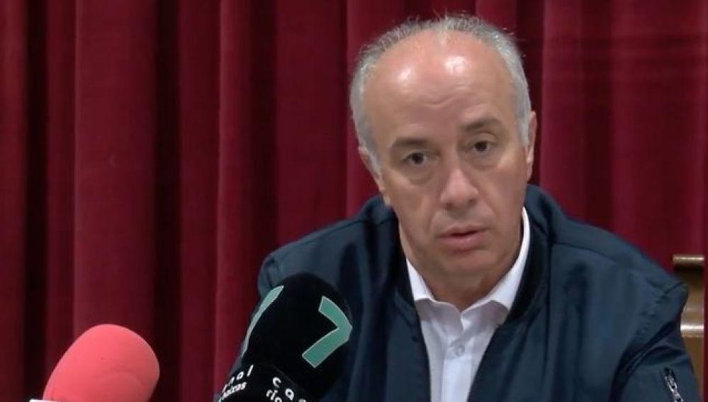 El alcalde de Vilanova de Arousa, Gonzalo Durán