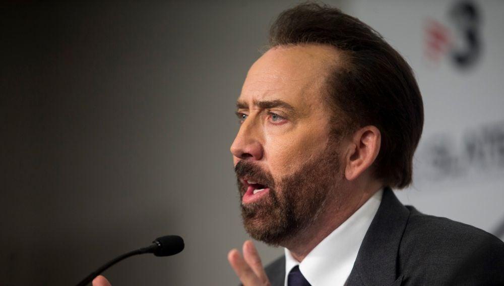 El actor norteamericano Nicolas Cage
