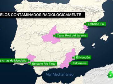 Suelos contaminados radiológicamente