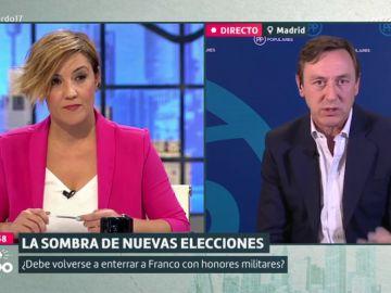 """Rafael Hernando, sobre la exhumación de Franco: """"Los nietos de los protagonistas de la Transición ahora intentan remover la dictadura"""""""