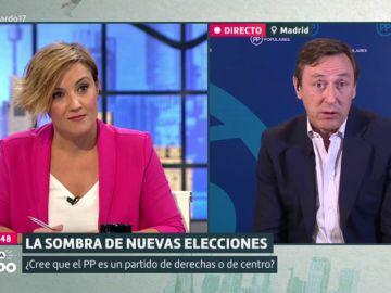 Cristina Pardo y Rafael Hernando
