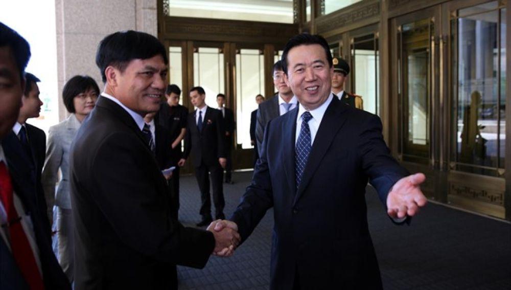 Meng Hongwei, presidente de la Interpol