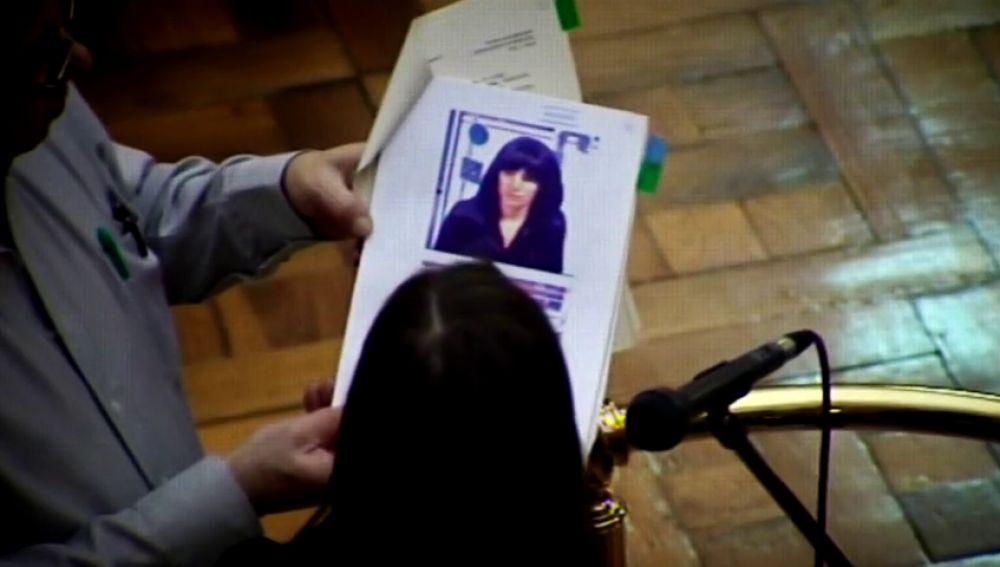Imagen de Angie en su juicio