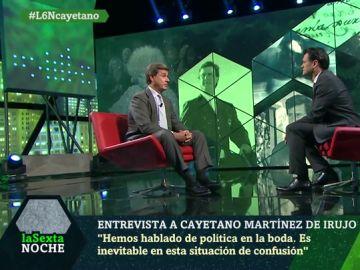 Cayertano Martínez de Irujo, en laSexta Noche