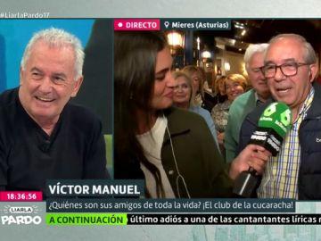 """Reunimos al 'Club de la Cucaracha', el grupo de amigos de Víctor Manuel: """"Suspendíamos todos los años y teníamos que ir al colegio en verano"""""""