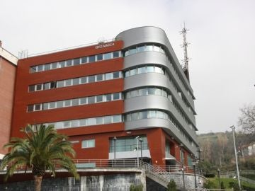 Imagen de la comiaría de la Ertzaintza en Bilbao