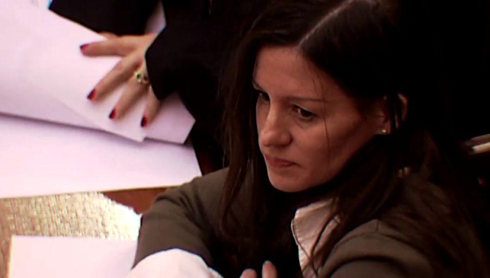 Imagen de Angie, condenada por asesinato