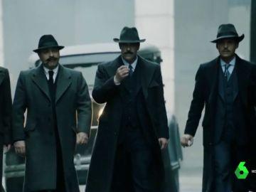 'La sombra de la ley', un trhiler de gangsters ambientado en la Barcelona de los años 20, este jueves en los cines