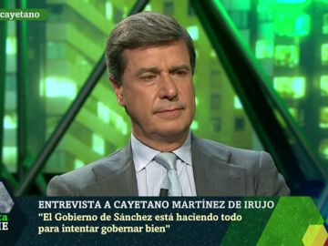 Cayetano Martínez de Irujo, en laSexta Noche
