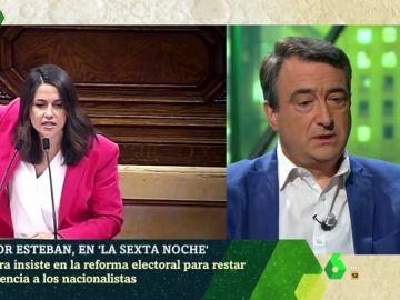 Aitor Esteban responde a Inés Arrimadas