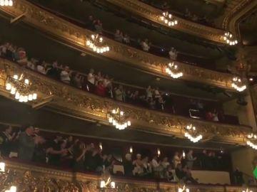 El Liceu de Barcelona se pone en pie para despedirse de Montserrat Caballé