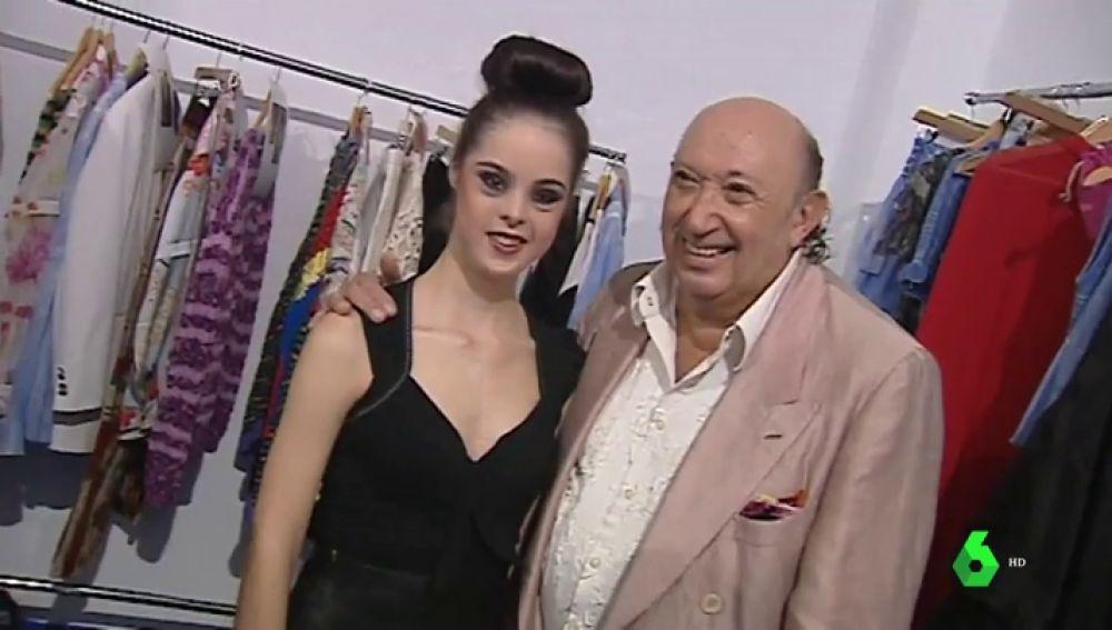 La modelo Marián Ávila con Francis Montesinos