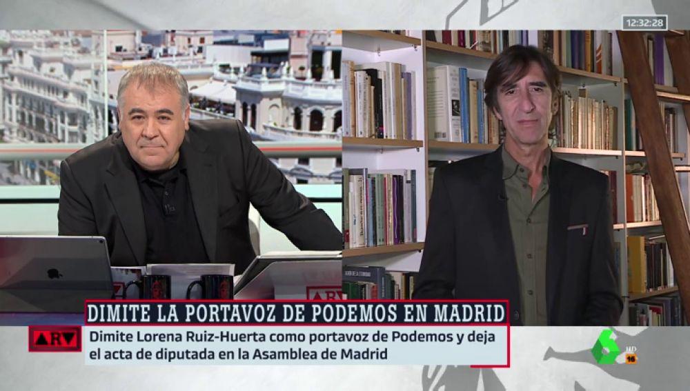 Antonio García Ferreras y Benjamín Prado
