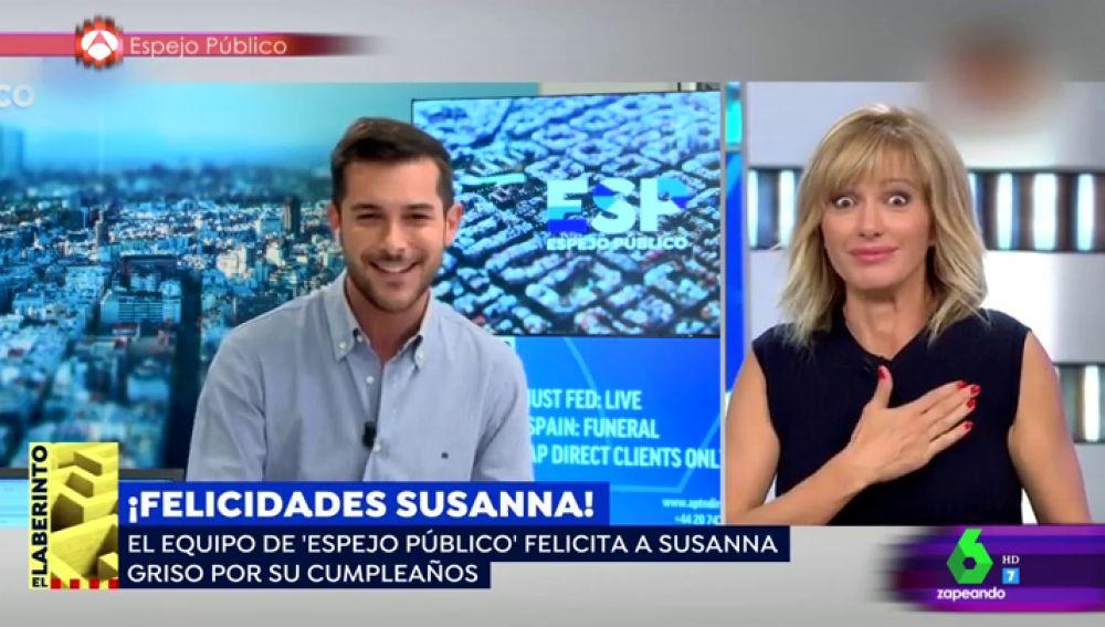 Susanna Griso, en Espejo Público