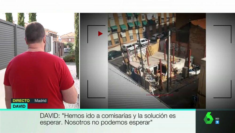 """Habla un vecino de Vallecas sobre el desalojo del narcopiso: """"Ya se ha vuelto a ocupar, pero ahora es peor. También amenazan a los vecinos"""""""
