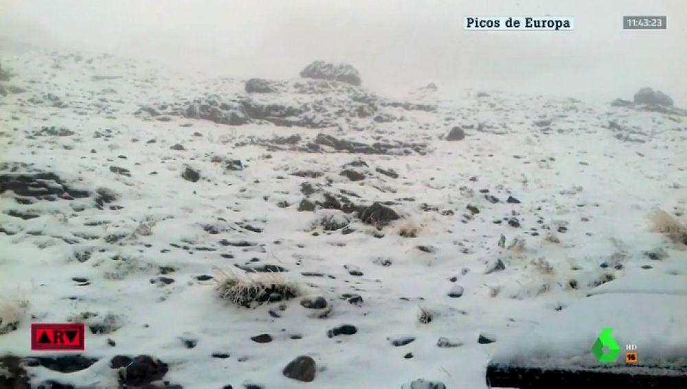 Caen las primeras nevadas