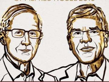 Los estadounidenses William D. Nordhaus y Paul M. Romer