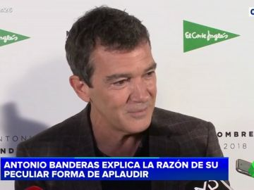 Antonio Banderas explica el porqué de su aplauso flamenco