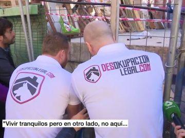 Desalojo de un narcosolar en Vallecas
