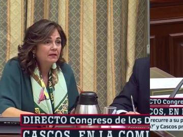 Beatriz Escudero y Gabriel Rufián
