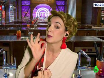 Leonor Lavado encarna a una enfadada Antonia Dell'Atte