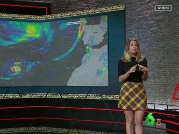 Isabel Zubiaurre explica cómo es Leslie, el huracán que se dirige al archipiélago canario