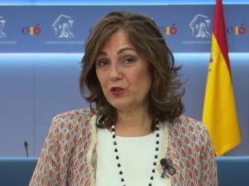 """Beatriz Escudero tilda a Rufian de """"machito perdonavidas"""" después de que éste le llamara """"palmera"""" y le guiñara un ojo"""