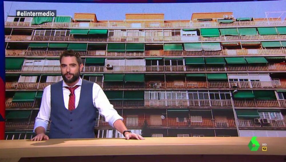 """Dani Mato analiza la """"España de los balcones"""": """"Bicis oxidadas, bombonas, toldos verdes...Debemos sentirnos orgullosos de vivir en un país pluribalconal"""""""